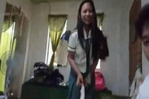 Viral Iloilo sarap Pinay Teen SHS Student Leaked Sex Videos part 1