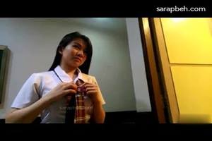 Pinay student photoshoot video